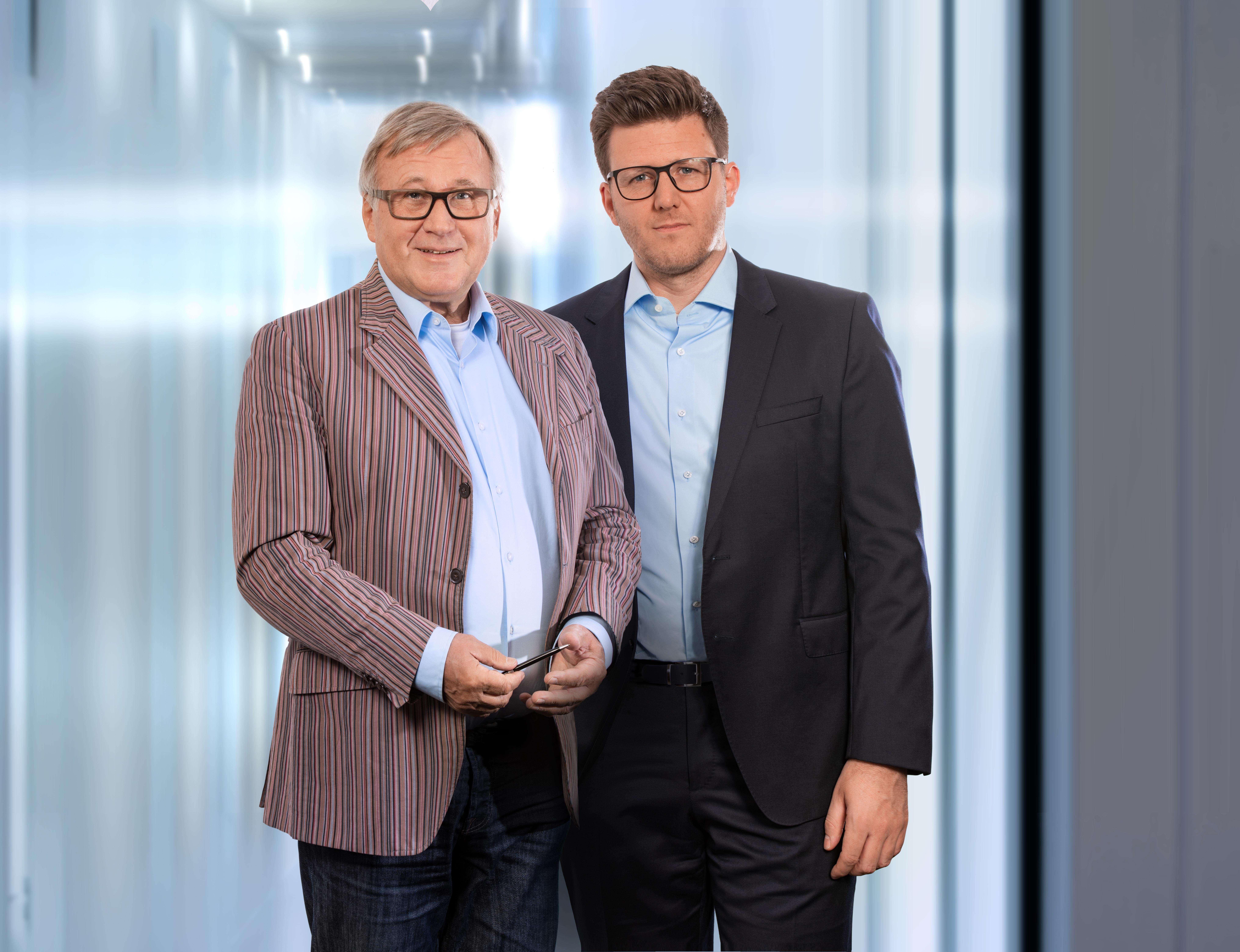 Rolf Haas und Walter Haas